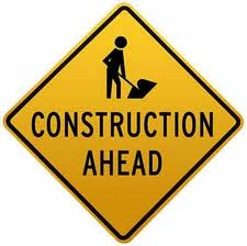 construction ahead