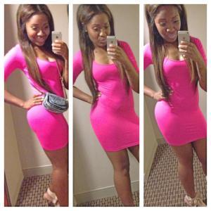 Mori pink dress