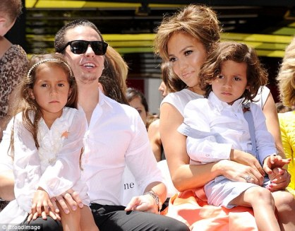 JLo and kiddies