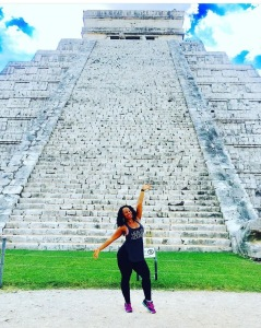 Brittani visiting Ruinas Mayas