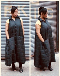 Floor-length Waterproof Coat Vest by J. Tracey