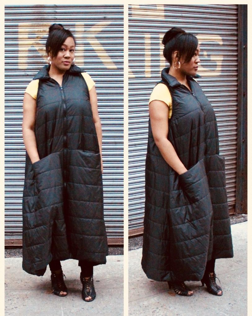 Floor-length Waterproof Coat Vest by J. Tracey